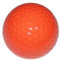 Orange Blank Golf Ball