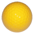 Yellow Blank Golf Ball